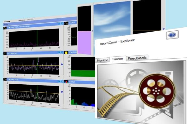 neuroConn Explorer Software für THERA PRAX Syteme